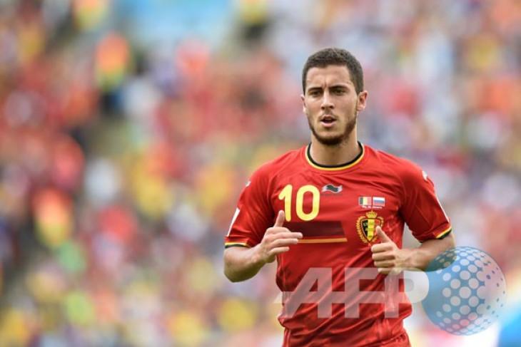 Hazard tak mau dibanding-bandingkan dengan Messi