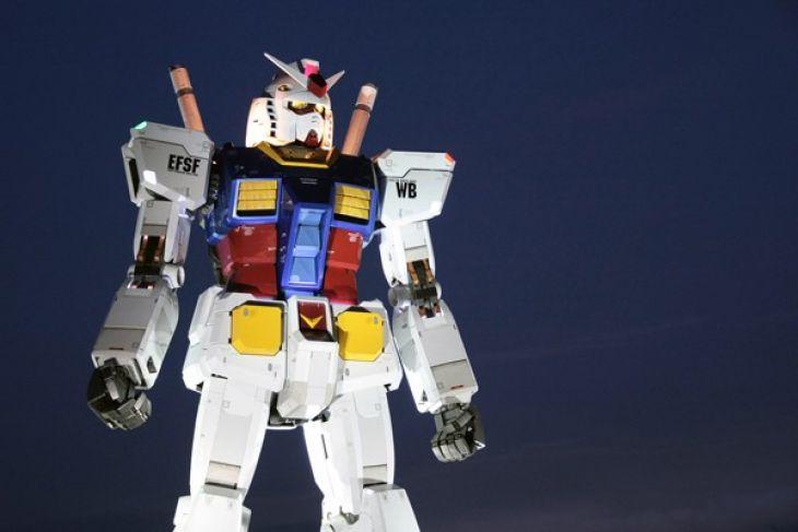 Jepang akan buat robot Gundam raksasa