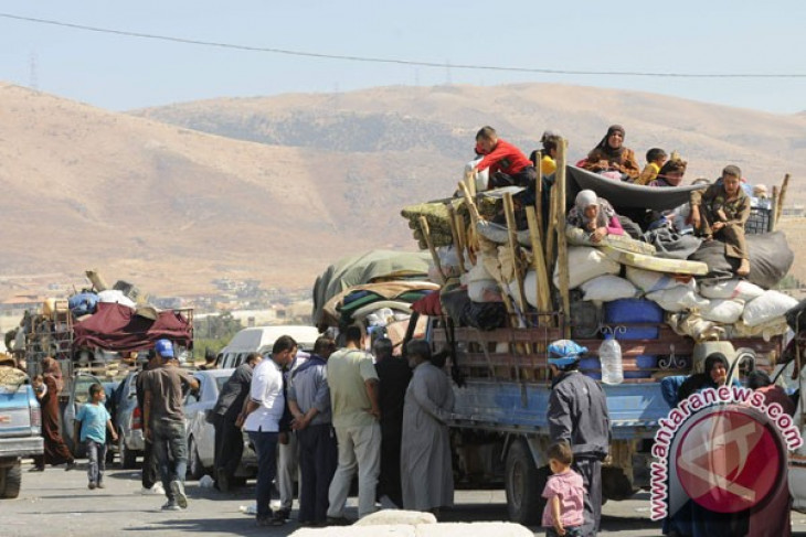 Jumlah pengungsi Suriah di Lebanon turun di bawah sejuta