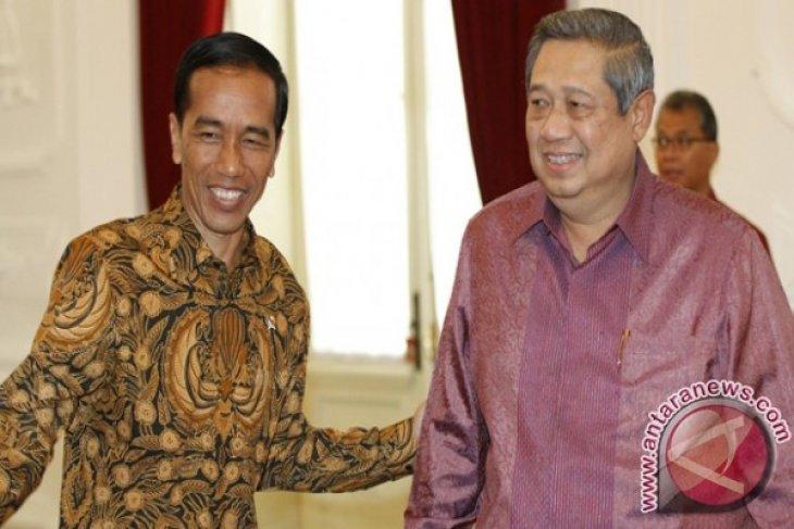Presiden Jokowi-SBY Bahas Perppu Pilkada