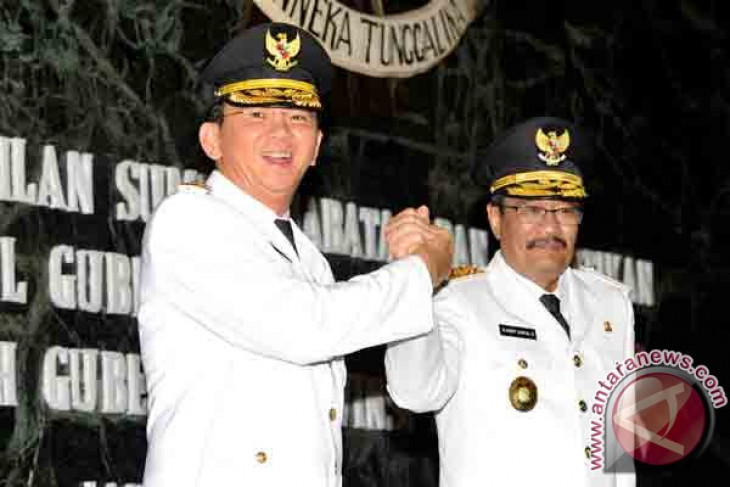 Djarot resmi dilantik sebagai wakil gubernur DKI