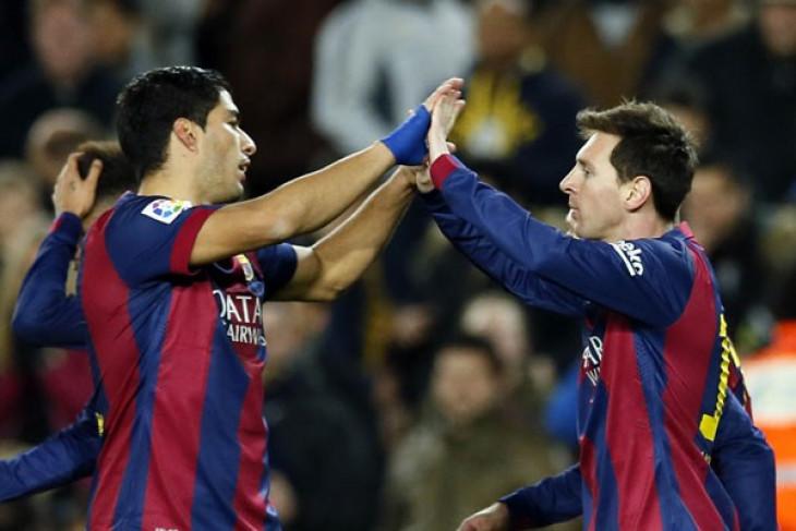 Messi dan Suarez pencetak gol terbanyak kualifikasi Amerika Selatan