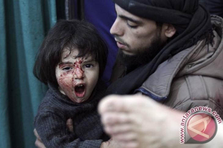 Sekjen PBB serukan segera dihentikannya pertikaian di Ghouta Timur, Suriah