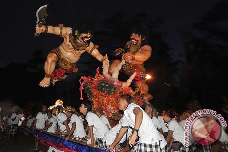 Parade Ogoh-Ogoh Tegallalang