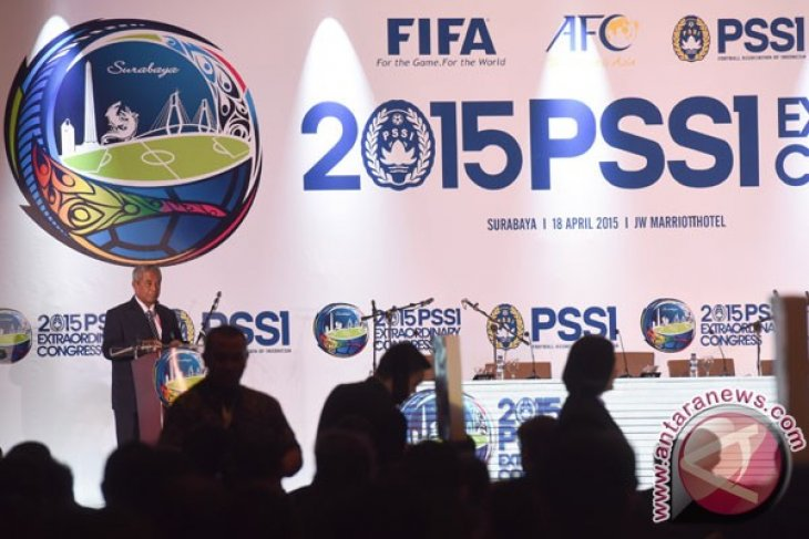 Tony Aprilani pimpin delegasi PSSI ke Menpora