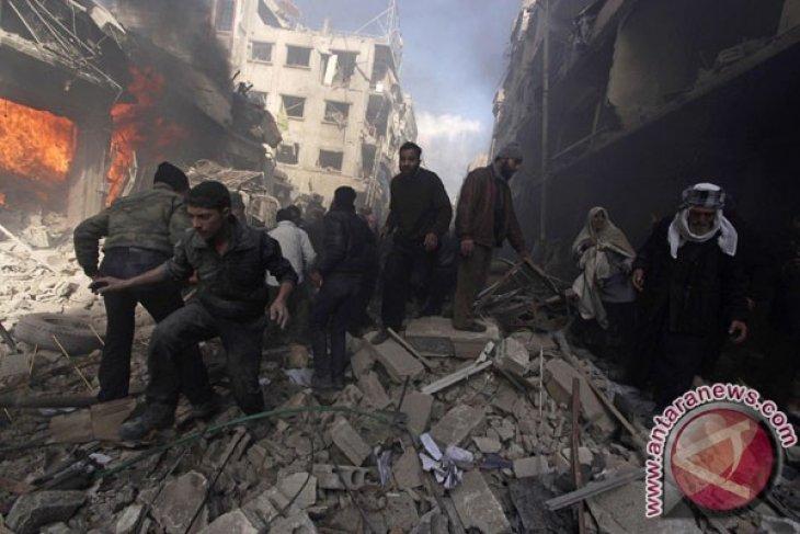 Gerilyawan Tangkap Puluhan Prajurit Suriah di Idlib