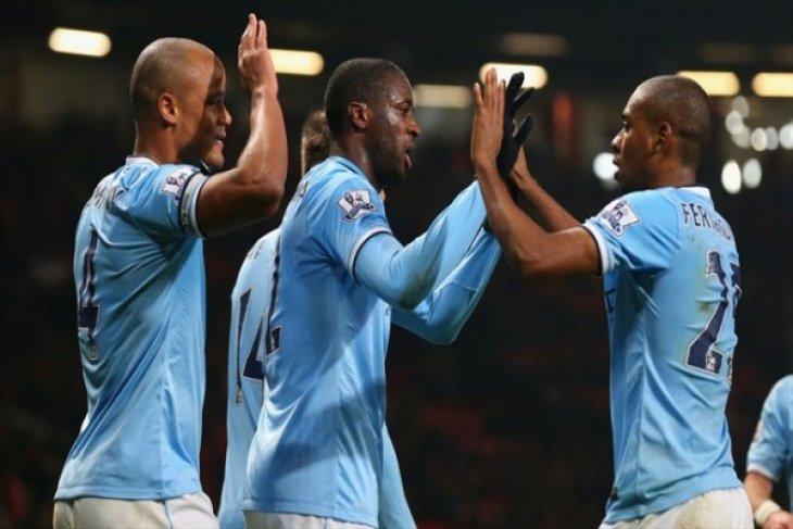 Kalahkan Hotspur, City kembali puncaki klasemen