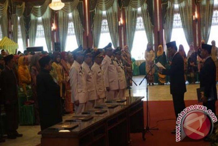 Lima Penjabat Bupati/Wali Kota Kalsel Dilantik