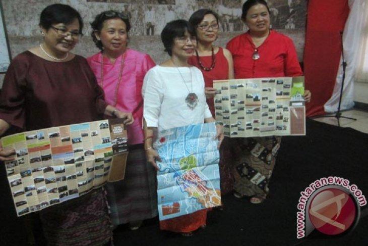 Peta Panduan Jelajah Kota Pusaka Bogor Diluncurkan