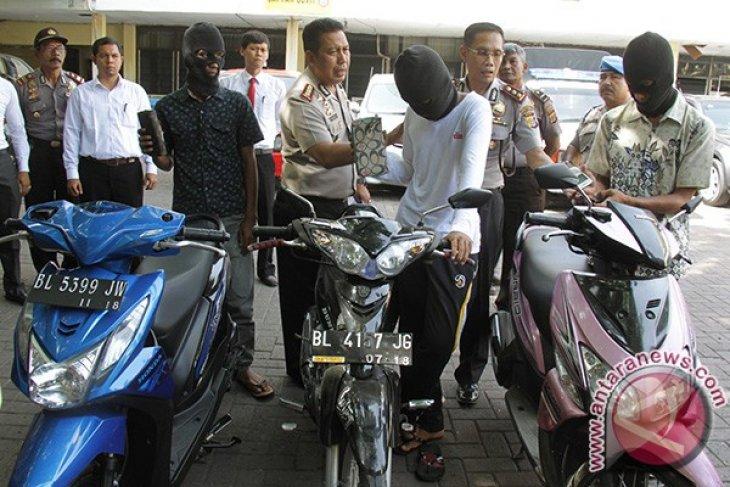 Pencurian Sepeda Motor Marak di Kota Lhokseumawe