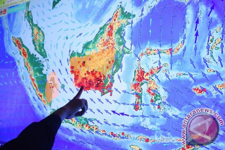 BNPB : Terpantau 150 titik api di Kalbar