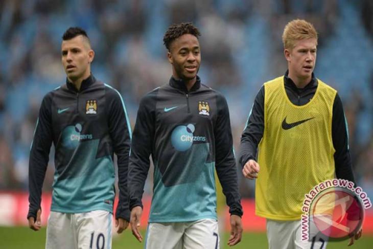 De Bruyne-Sterling dapat dimainkan saat City lawan Arsenal