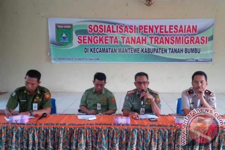 Tanah Bumbu Sosialisasi Penyelesaian Sengketa Tanah