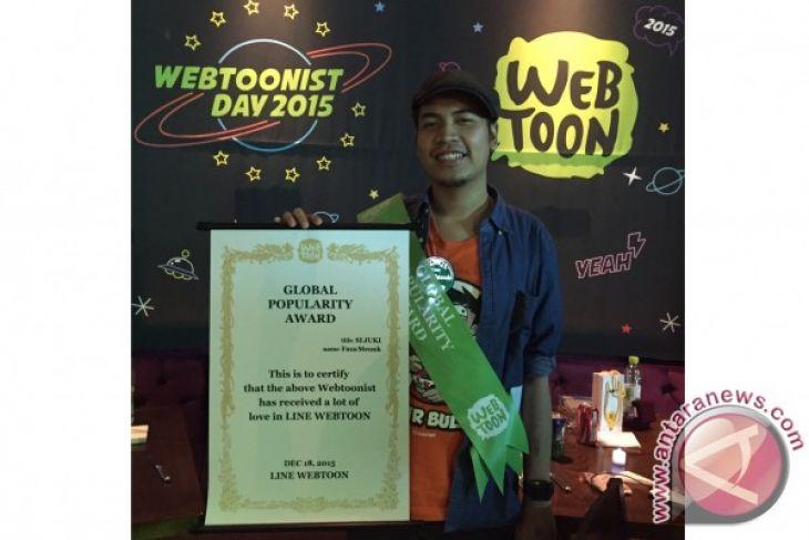 """Si Juki"" karya Faza Meonk menangi penghargaan Webtoon"