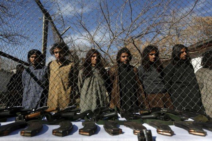 Serangan udara militer Afghanistan tewaskan 40 gerilyawan Taliban