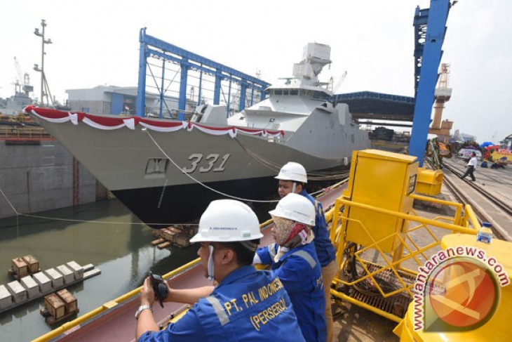 Kementerian Pertahanan minta PT PAL produksi PKR sendiri