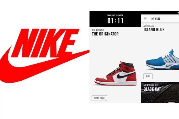 Aplikasi Milik Nike