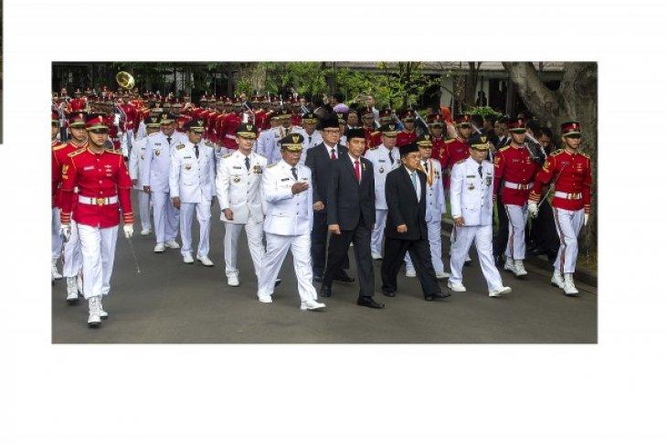 Cara baru lantik gubernur ala Presiden Jokowi