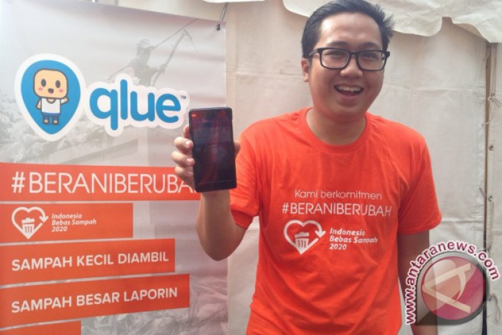 Aplikasi Qlue dukung Indonesia bebas sampah 2020