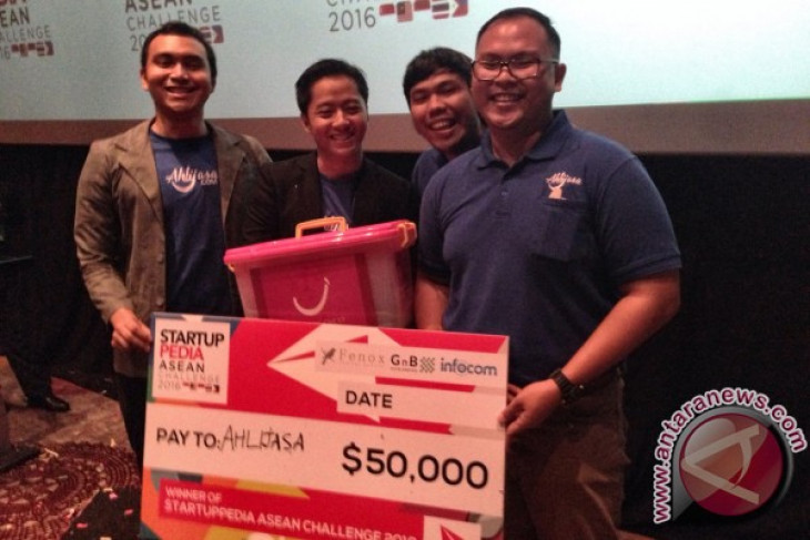 Ahlijasa menangi Startuppedia ASEAN Challenge 2016