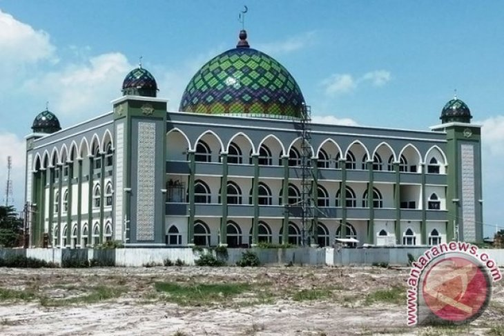 Kerusakan atap Masjid Agung Penajam segera diperbaiki
