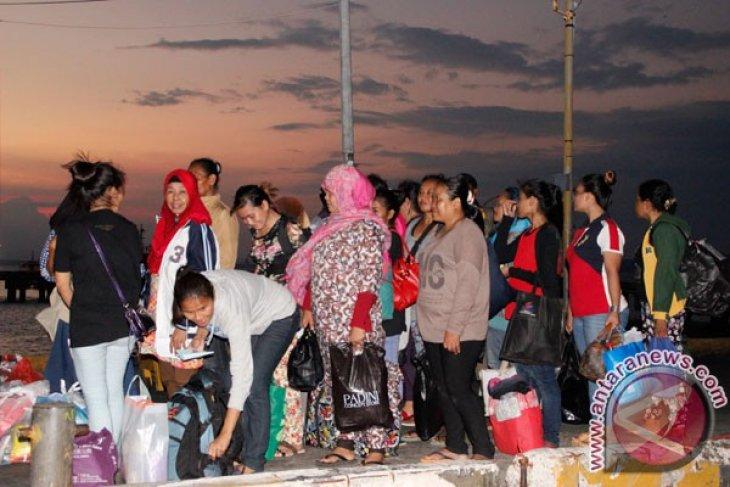 Malaysia deports 117 Indonesians through N Kalimantan's Nunukan