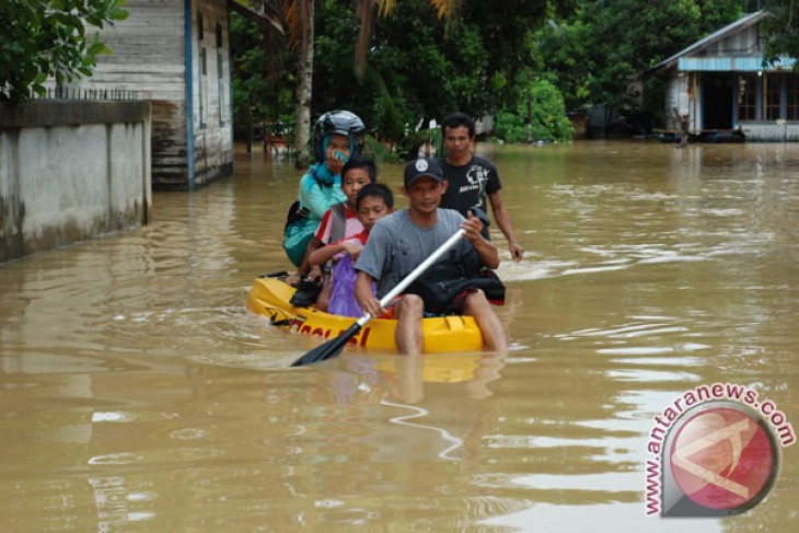 Wilayah Barito Utara dilanda banjir