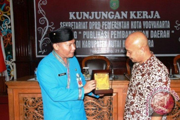 DPRD Yogyakarta Pelajari Bidang Kehumasan Kutai Kartanegara
