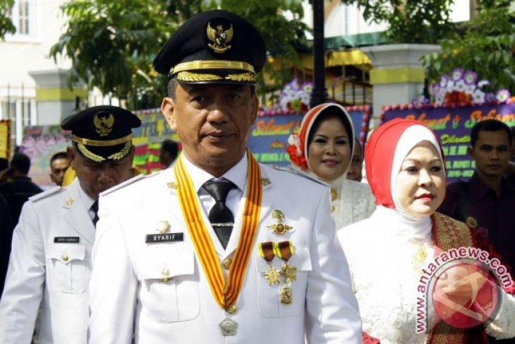 Syarif Mbuinga terima Satya Lencana Praja Nugraha, Kota Gorontalo terima Samkaryanugraha Parasamya