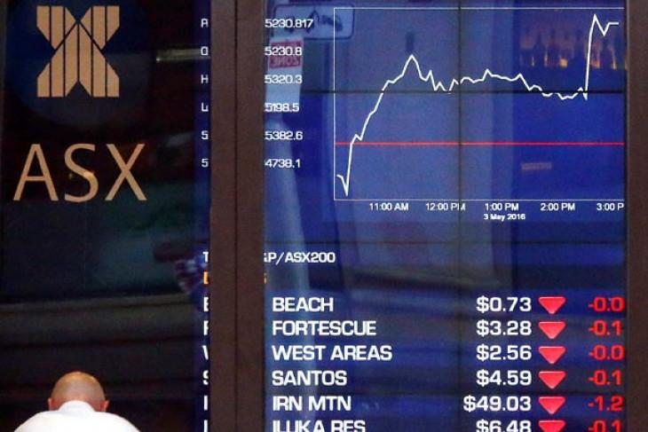 Bursa Australia melawan tren global, berakhir lebih tinggi