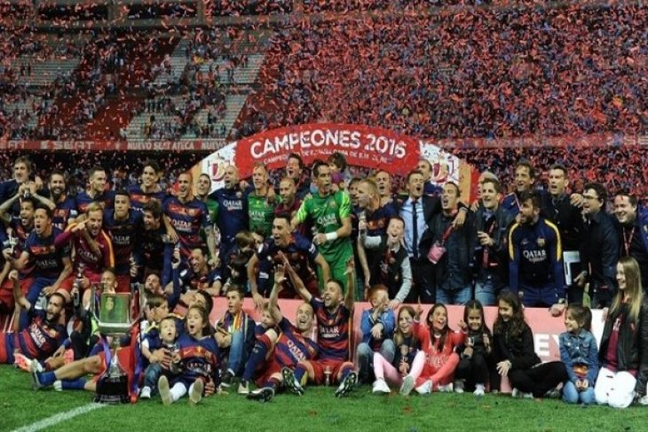 Ini hasil pertandingan putaran 16 besar Piala Raja Spanyol