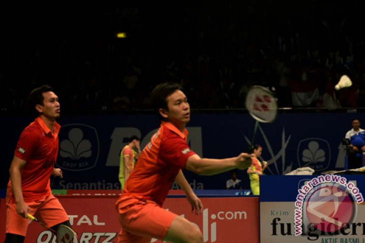 Pemain Denmark memuji ganda putra Indonesia
