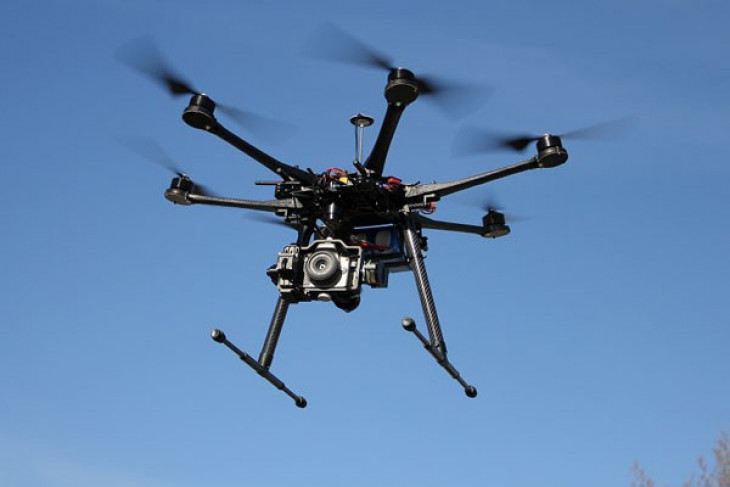 Drone yang dipasangi dua granat mendarat di rumah pejabat Meksiko