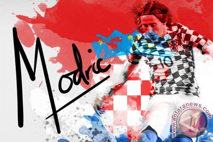 Modric antar kemenangan Kroasia atas Turki