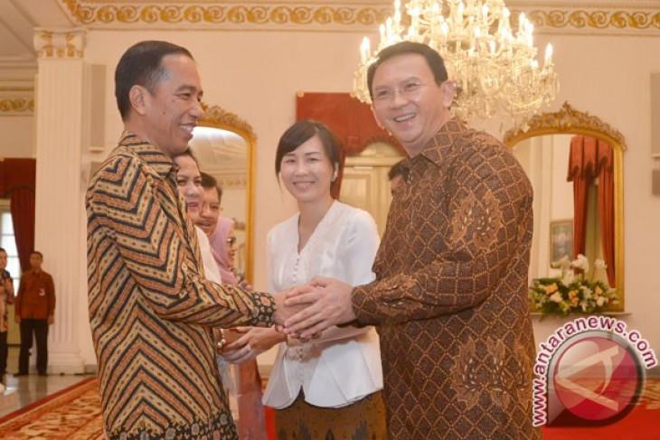 Presiden Jokowi halal bihalal dengan pimpinan lembaga negara