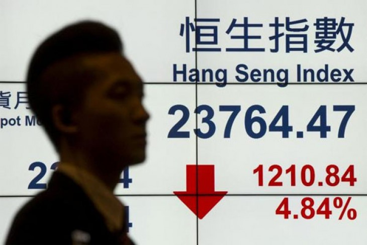 Bursa Hong Kong dibuka turun tipis 0,03 persen