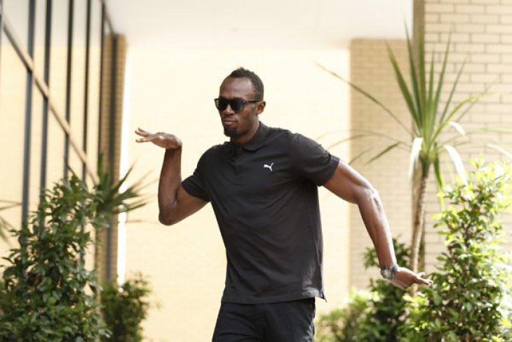OLIMPIADE 2016 - Bagi Usain Bolt yang penting ada tv