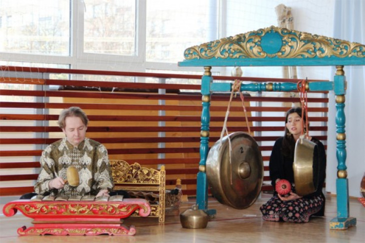 Membludak, pengunjung Festival Indonesia di Moskow