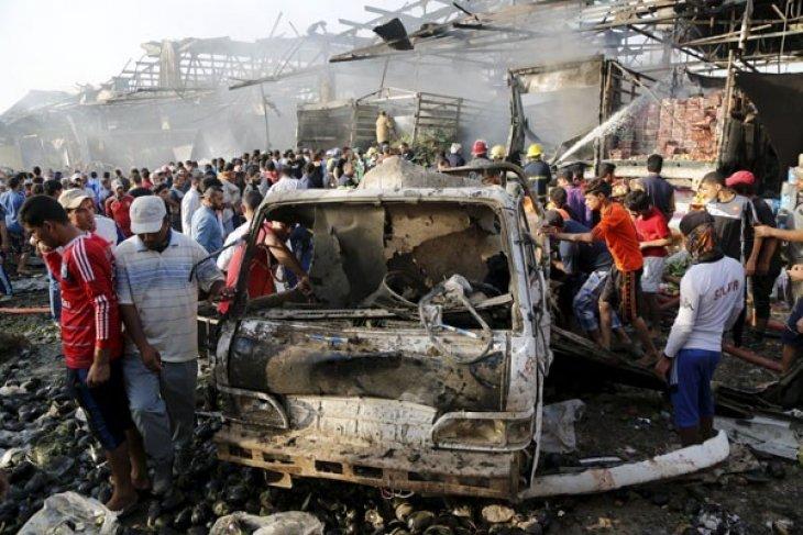 Tiga ledakan bom di Baghdad tewaskan sejumlah orang
