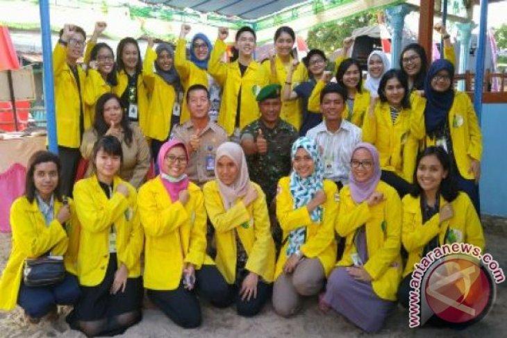 Mahasiswa FKG UI Kerja Sosial Di Babel