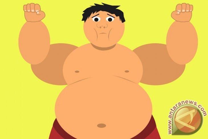 Otak orang gemuk menua 10 tahun lebih cepat dibanding otak orang kurus