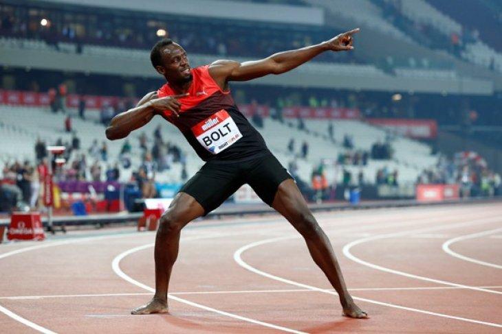 Usain Bolt juarai Olimpiade untuk ketiga kalinya