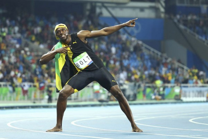 Ngebet jadi pemain bola, Usain Bolt latihan bersama tim liga Australia