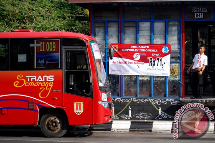 Dua koridor baru Trans Semarang molor lagi