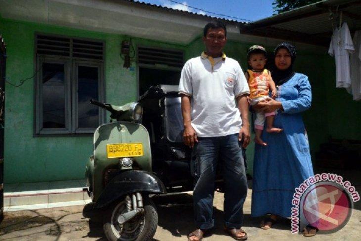 Anak Penarik Becak Kota Padangsidimpuan Lulus IPDN
