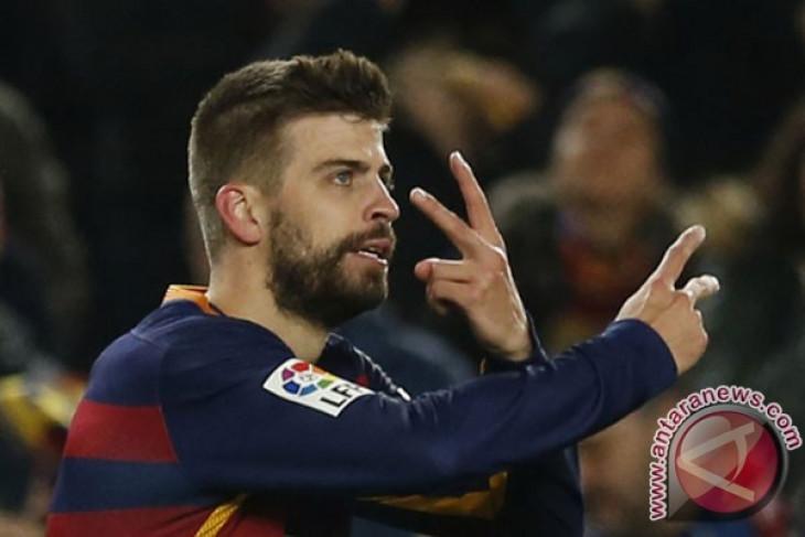 Barcelona perkarakan kartu kuning Pique dan Suarez