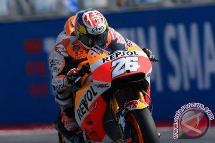Pedrosa Geser Rossi di MotoGP Misano
