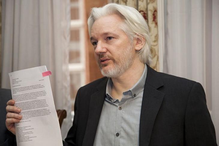 Nama Assange muncul di bank data Ekuador, picu spekulasi kewarganegaraan