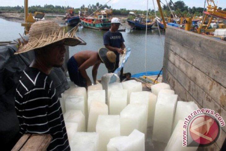 Sebulan nelayan Lhokseumawe butuh  1.000 ton es batangan