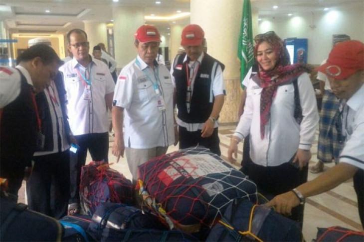 10 tas tangan jamaah haji yang hilang ditemukan